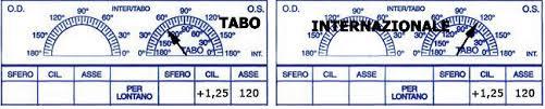 Tabo internazionale